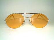 Bugatti 65788 - Halb Rahmenlose Vintage Brille Details