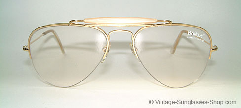 Ray Ban Balfast 810 - Gold Doublé Details