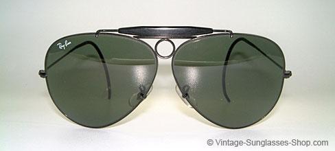 alte ray ban pilotenbrille