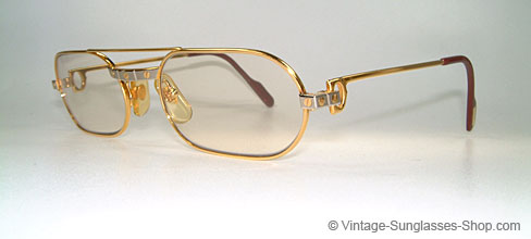 6ace38688b Brillen Cartier MUST Santos - Changeable - Elton John