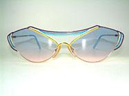 Casanova LC9 - 80er Kunst Sonnenbrille Details