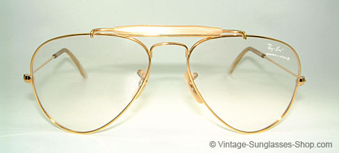 Ray Ban Outdoorman - Gold Filled Details