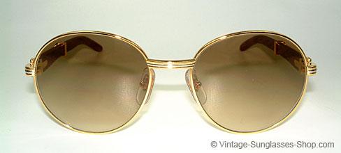 37c49c24e3 Sonnenbrillen Cartier Bagatelle - Palisander