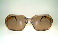 Duncker 2648 - 80er Gold Filled Brille Details