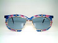 Cazal 871 - Extravagante Vintage Brille Details