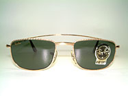 Ray Ban 1940's Retro Rectangle - B&L USA Details