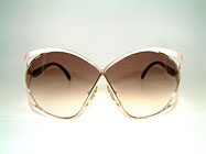 Christian Dior 2056 - 80er Butterfly Brille Details