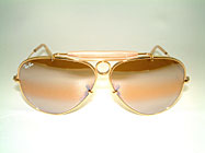 Ray Ban Shooter - Gold Plated USA Fassung Details