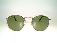 Ray Ban Small Round Metal 47 - USA B&L Details