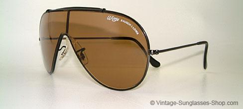 Sonnenbrillen Bausch Amp Lomb Wings Vintage Sunglasses