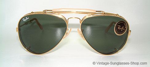 3eff62add4 Vintage B l Ray Ban G15 Outdoorsman Aviator Sunglasses
