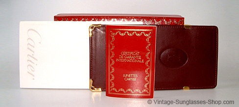 Cartier_ extra accessory - soft case & box Details
