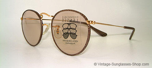 ray ban brille leder