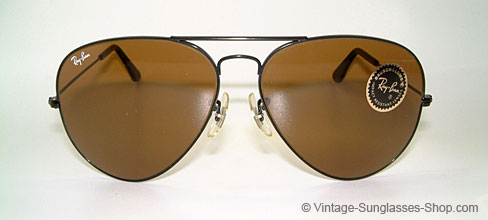Ray Ban Large Metal II - Black Chrome Details
