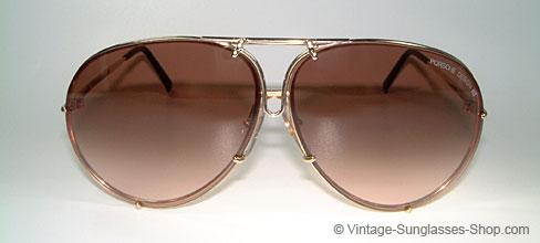 Vintage Sunglasses Produkt Details Sonnenbrillen Porsche 5621 Gold Plated