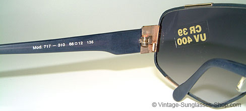 vintage sunglasses produkt details sonnenbrillen jaguar 717. Black Bedroom Furniture Sets. Home Design Ideas