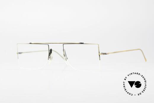 L.A. Eyeworks BURBANK 442 Echte Vintage Brille 90er Details
