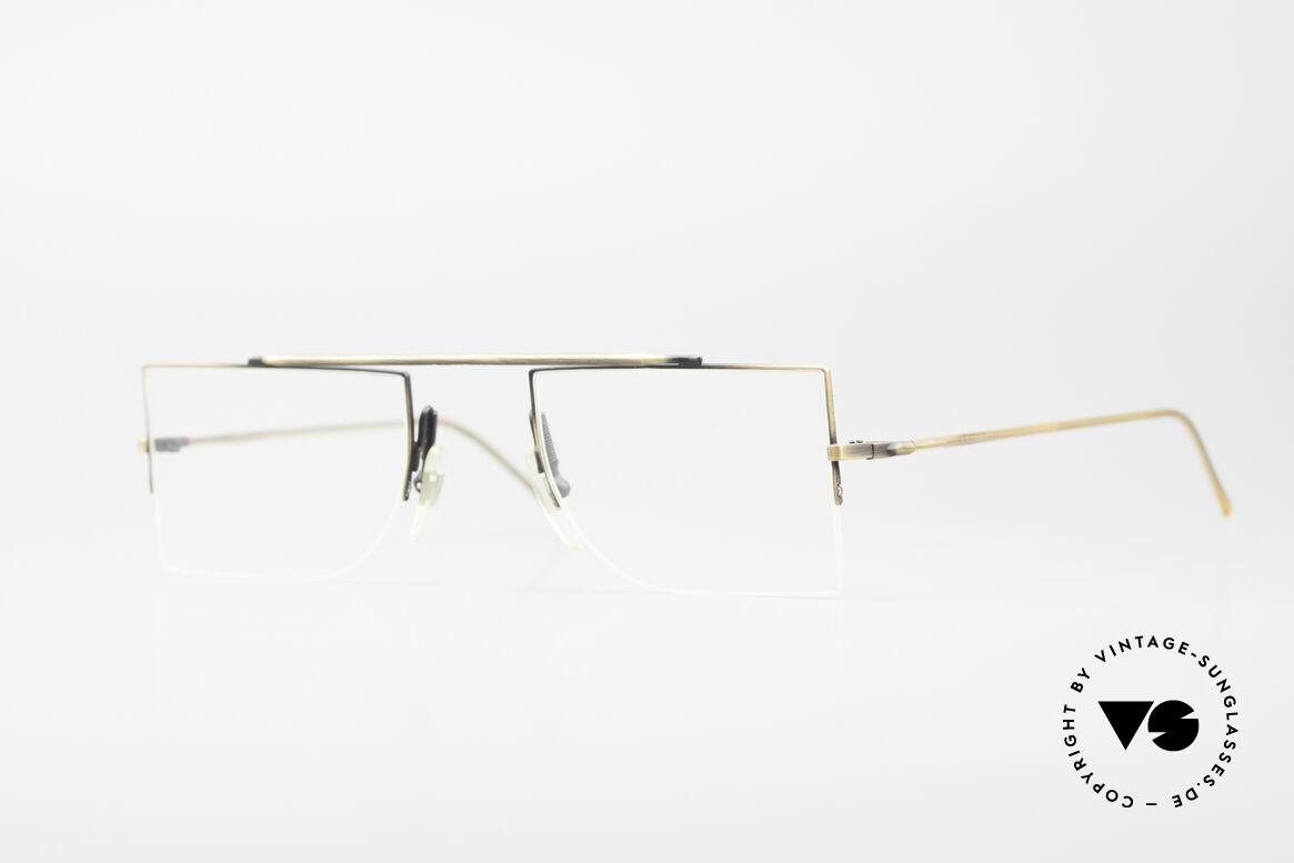 L.A. Eyeworks BURBANK 442 Echte Vintage Brille 90er, L.A. Eyeworks = unkonventionelle & lebhafte Designs, Passend für Herren und Damen