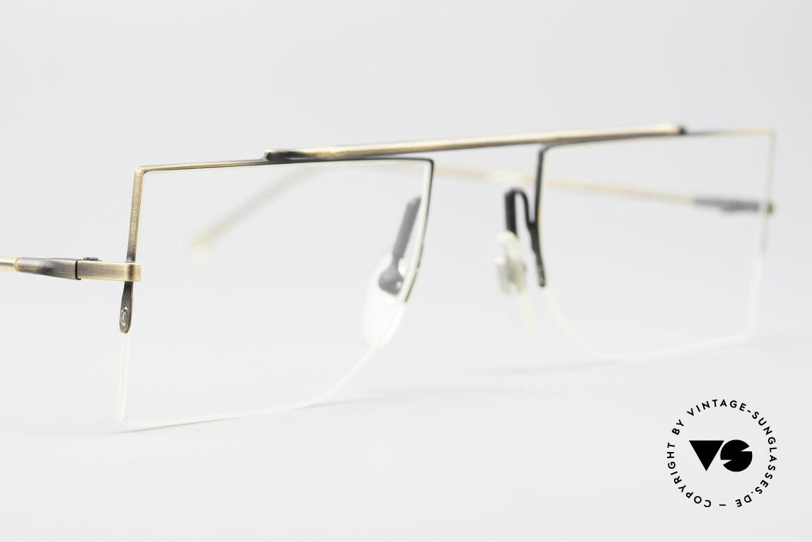 L.A. Eyeworks BURBANK 442 Echte Vintage Brille 90er, ungetragenes Einzelstück (wie all unsere LAE Brillen), Passend für Herren und Damen