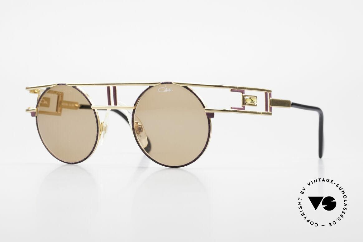 Cazal 958 90er Vanilla Ice Sonnenbrille, berühmte vintage Cazal Designerbrille von 1991, Passend für Herren und Damen