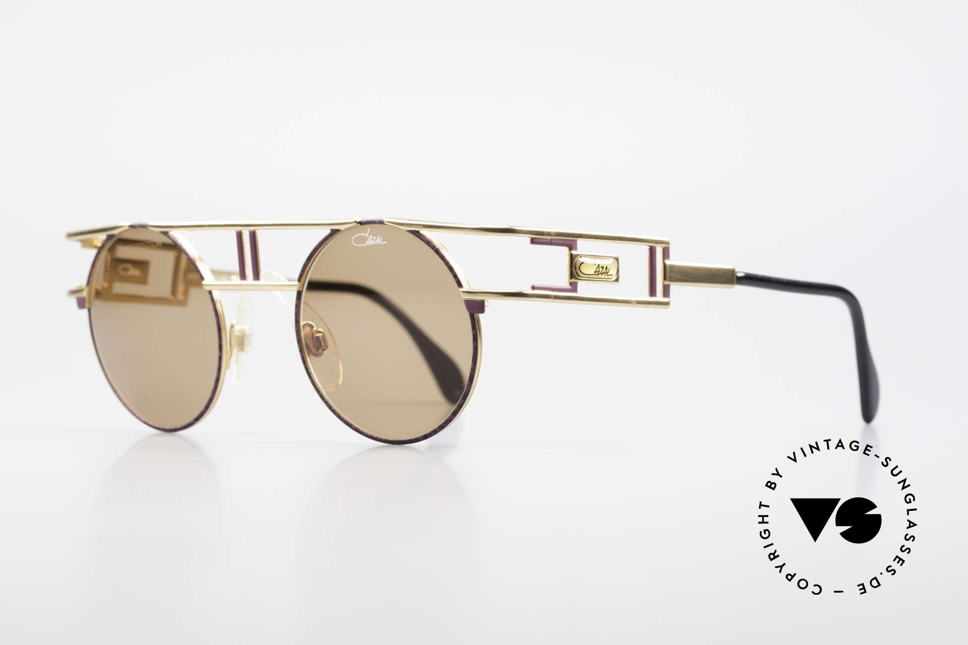 Cazal 958 90er Vanilla Ice Sonnenbrille, ebenso getragen von Beyoncé im Jahre 2012/2013, Passend für Herren und Damen