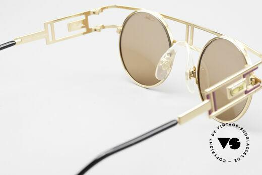 Cazal 958 90er Vanilla Ice Sonnenbrille, hellbraune Cazal Sonnengläser; 100% UV Protection, Passend für Herren und Damen