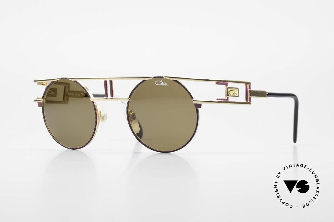 Cazal 958 90er Eurythmics Sonnenbrille, berühmte vintage Cazal Designerbrille von 1991, Passend für Herren und Damen