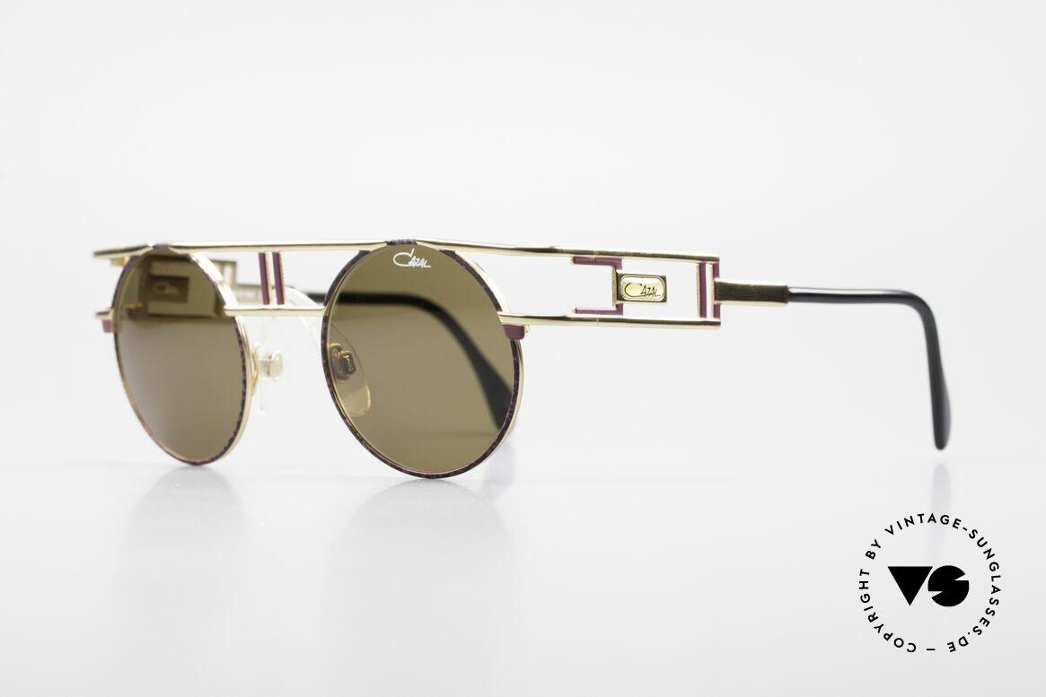 Cazal 958 90er Eurythmics Sonnenbrille, ebenso getragen von Beyoncé im Jahre 2012/2013, Passend für Herren und Damen