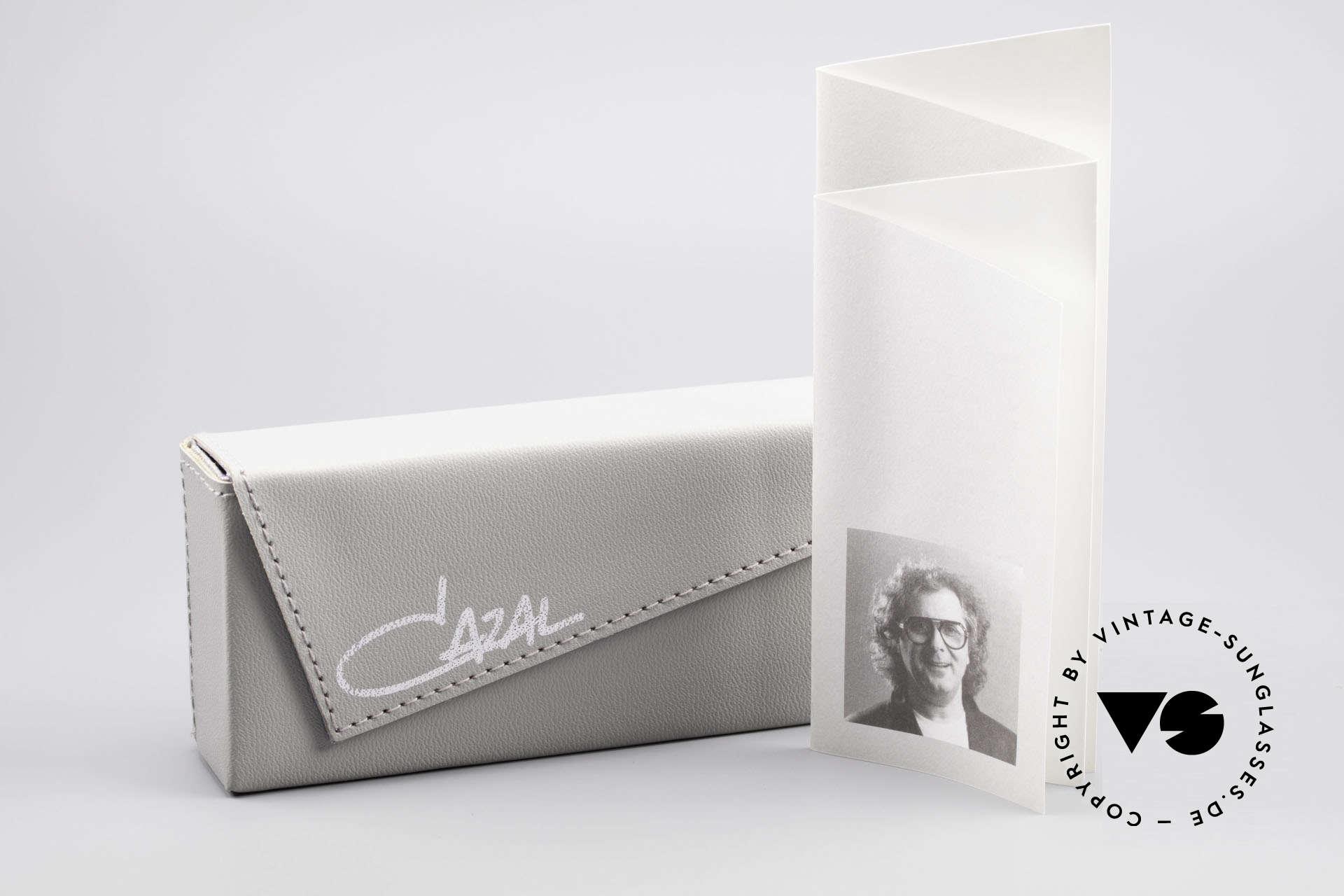 Cazal 958 90er Eurythmics Sonnenbrille, Größe: medium, Passend für Herren und Damen