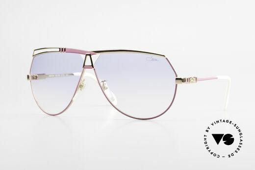 Cazal 954 Oversized XXL Sonnenbrille Details