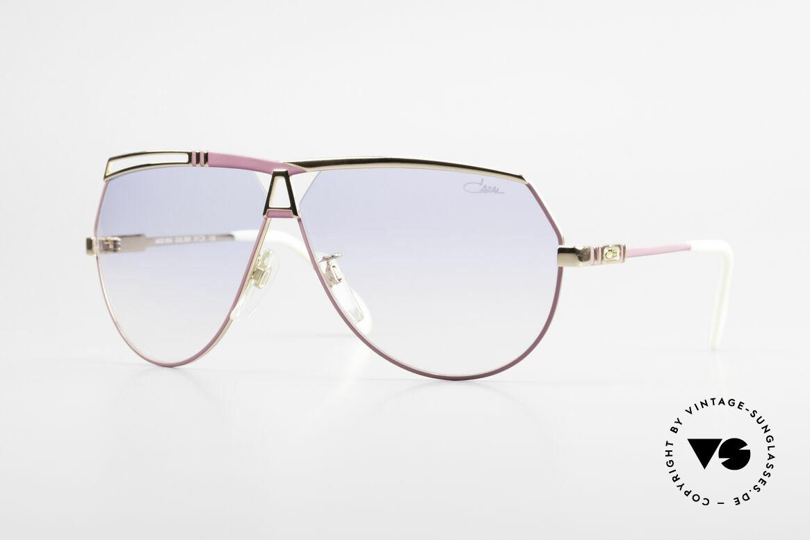Cazal 954 Oversized XXL Sonnenbrille, außergewöhnliche Cazal vintage Designer-Sonnenbrille, Passend für Damen