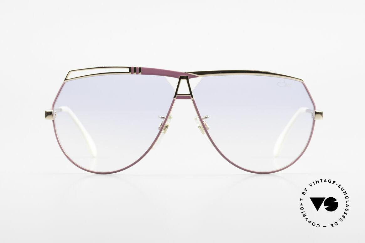 Cazal 954 Oversized XXL Sonnenbrille, von 1989 bis 1992 in Passau gefertigt (noch Handarbeit), Passend für Damen