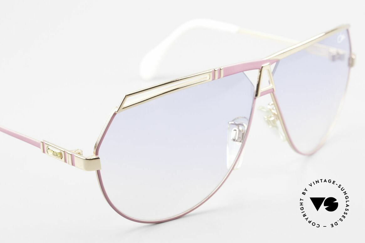 Cazal 954 Oversized XXL Sonnenbrille, KEINE RETRO-Sonnenbrille, sondern ein altes Original!, Passend für Damen