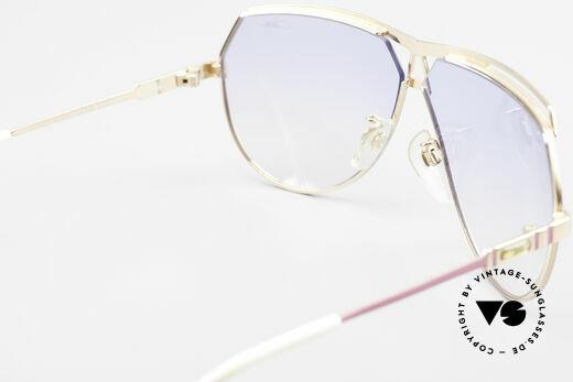 Cazal 954 Oversized XXL Sonnenbrille, eine XXL vintage Sonnenbrille, da 145mm Rahmenbreite, Passend für Damen