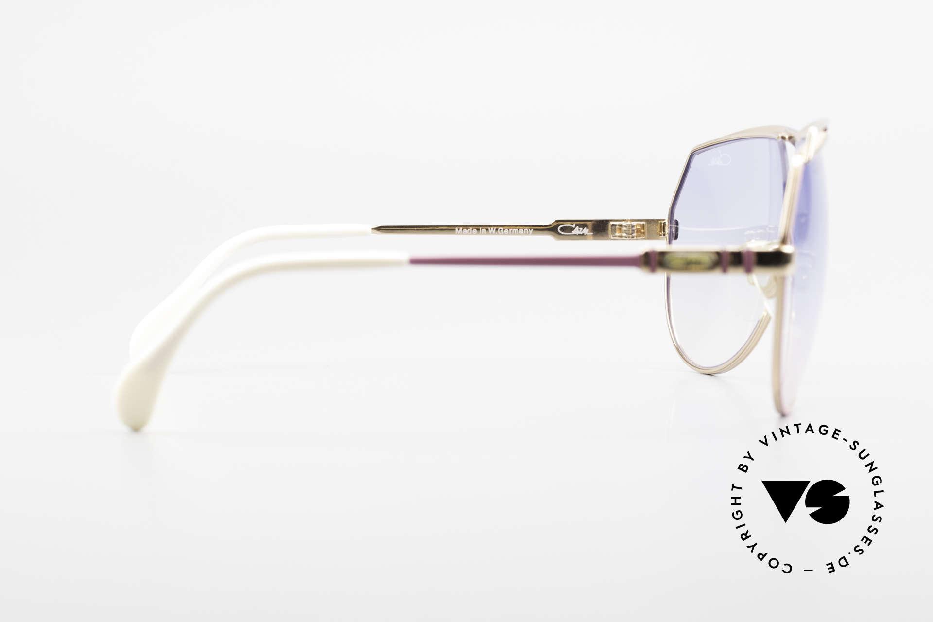 Cazal 954 Oversized XXL Sonnenbrille, Größe: extra large, Passend für Damen
