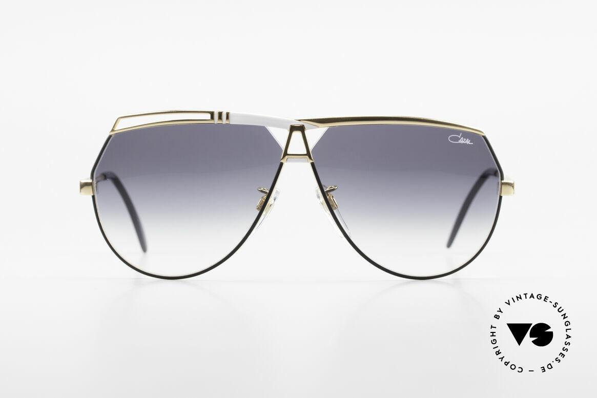 Cazal 954 Vintage Designer Sonnenbrille, von 1989 bis 1992 in Passau gefertigt (noch Handarbeit), Passend für Herren und Damen