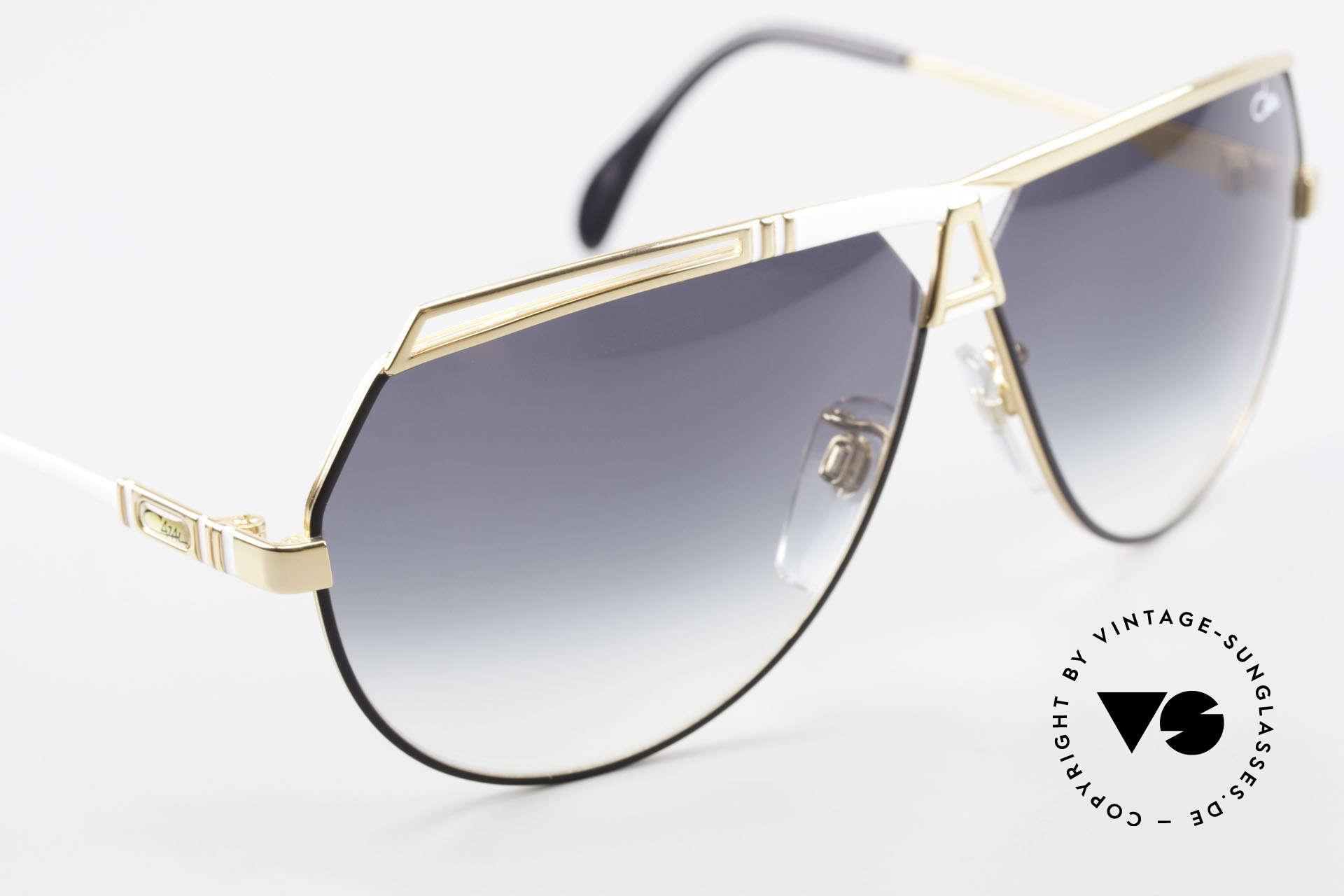 Cazal 954 Vintage Designer Sonnenbrille, KEINE Retro Sonnenbrille, sondern ein altes ORIGINAL, Passend für Herren und Damen