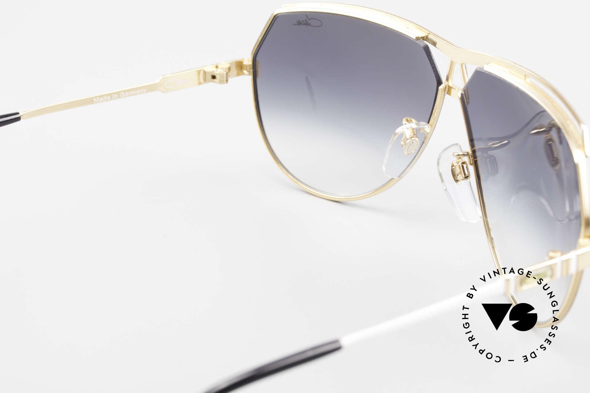 Cazal 954 Vintage Designer Sonnenbrille, eine XXL vintage Sonnenbrille, da 145mm Rahmenbreite, Passend für Herren und Damen