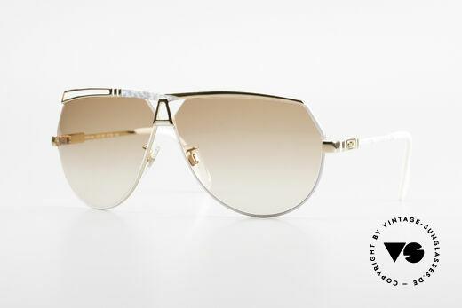 Cazal 954 Vintage Designer Sonnenbrille Details