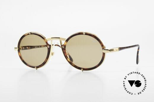 Cazal 644 Runde Cazal 90er Sonnenbrille Details