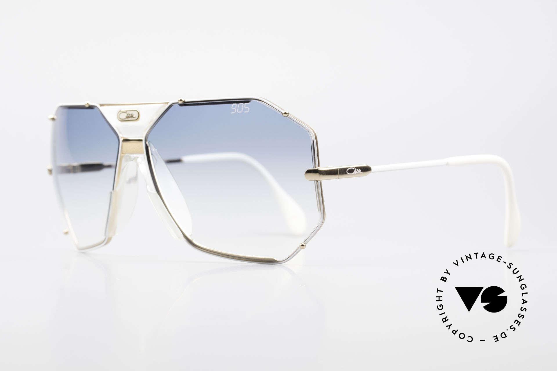 Cazal 905 Gwen Stefani Vintage Brille, mit orig. Cazal Etui & Wechselgläsern (100% UV), Passend für Herren und Damen
