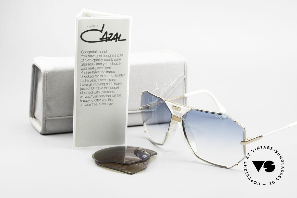 Cazal 905 Gwen Stefani Vintage Brille, altes W.GERMANY ORIGINAL (keine Reproduktion), Passend für Herren und Damen