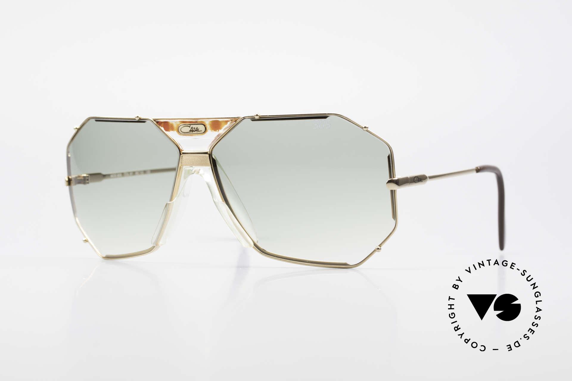 Cazal 905 Gwen Stefani Sonnenbrille 80er, berühmte Cazal vintage Sonnenbrille von 1989/90, Passend für Herren