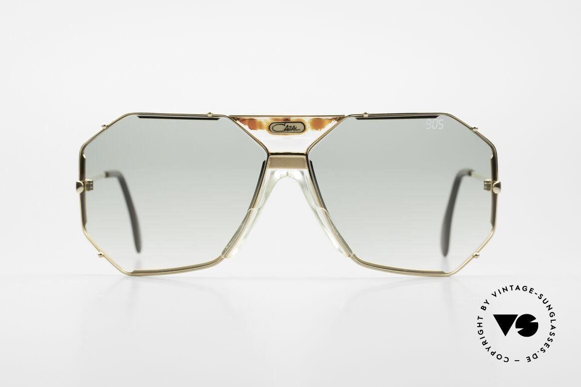 Cazal 905 Gwen Stefani Sonnenbrille 80er, elegantes, kantiges Design v. Cari Zalloni, CAZAL, Passend für Herren
