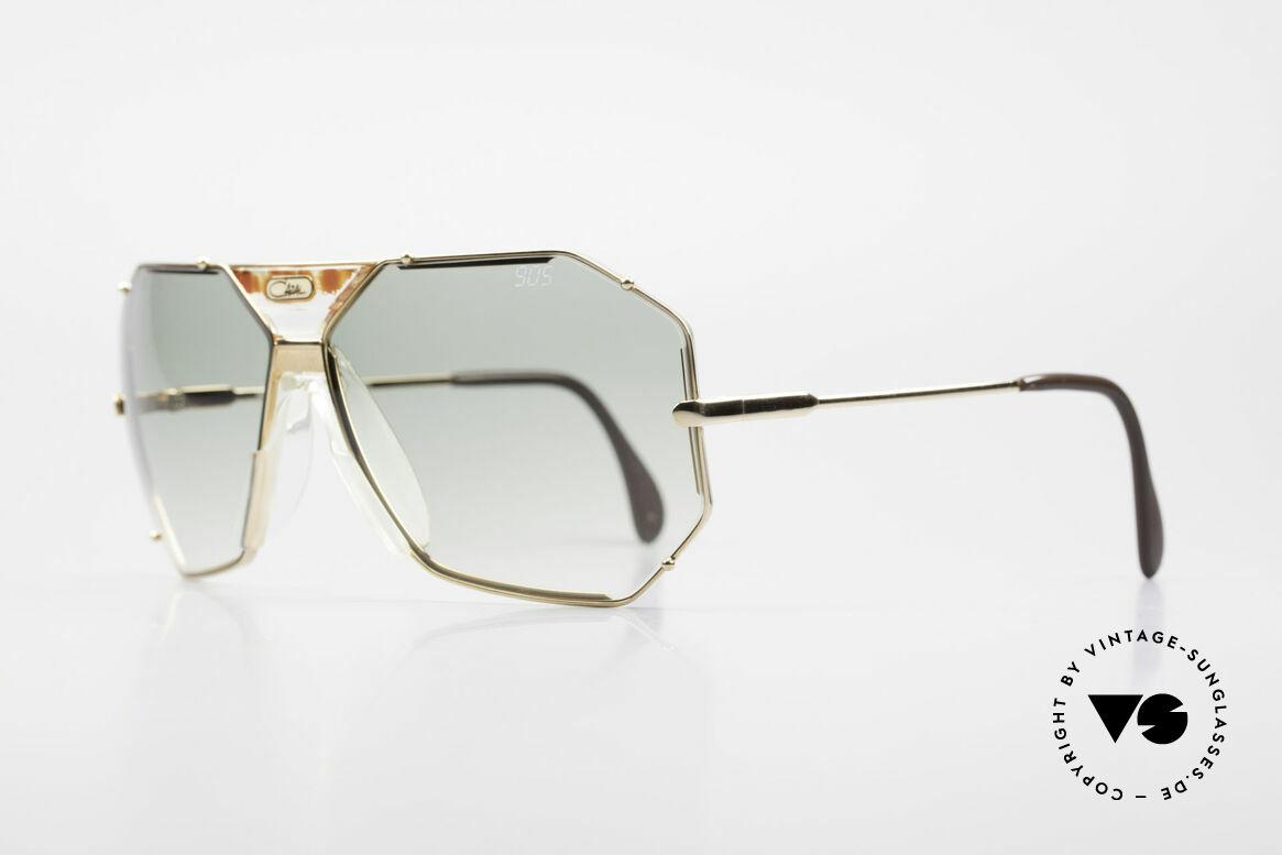Cazal 905 Gwen Stefani Sonnenbrille 80er, mit orig. Cazal Etui u. Wechselgläsern (100% UV), Passend für Herren