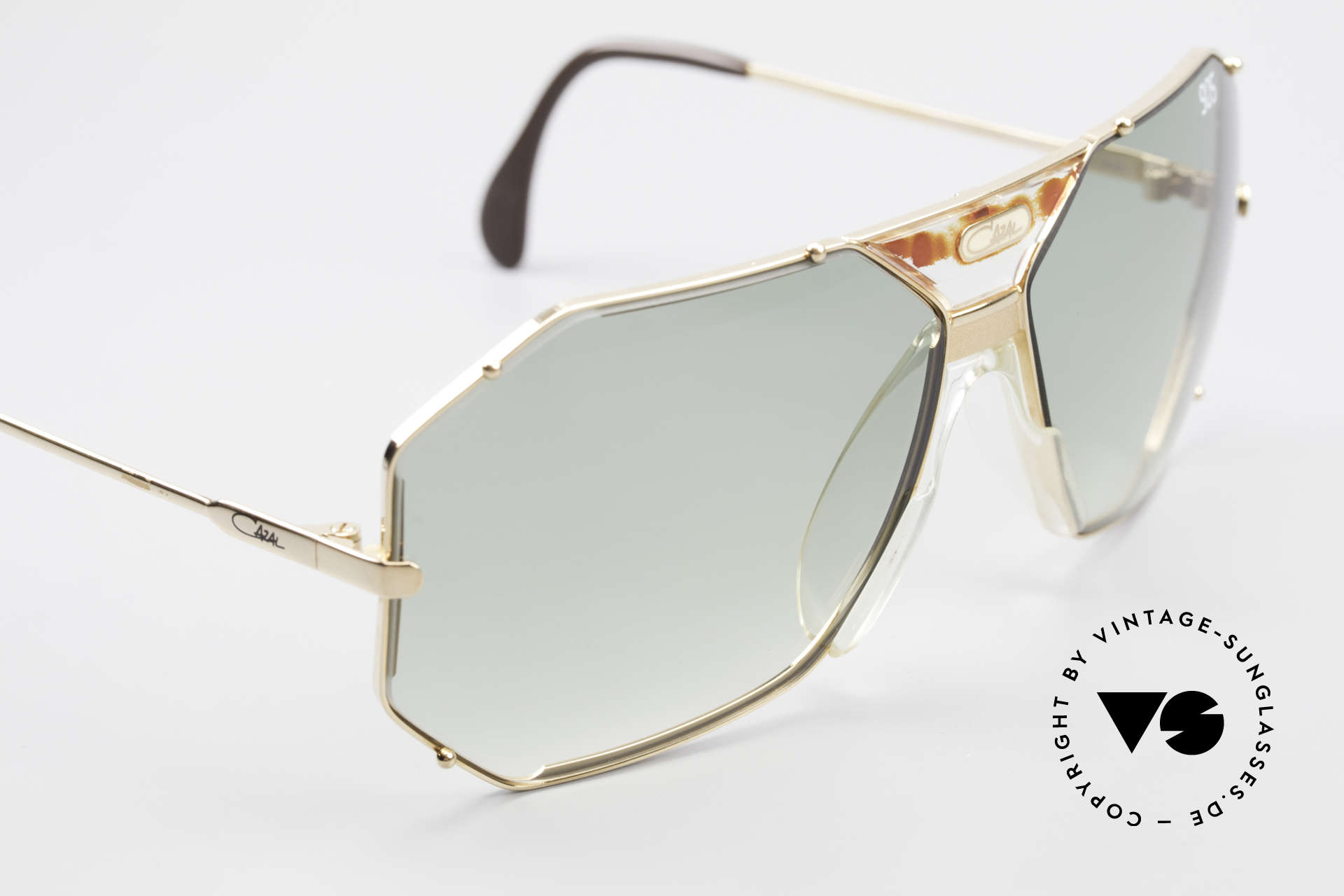 Cazal 905 Gwen Stefani Sonnenbrille 80er, ungetragen (wie alle unsere alten CAZAL Brillen), Passend für Herren