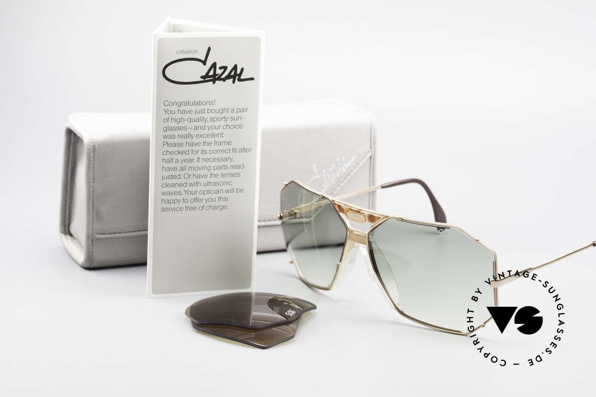 Cazal 905 Gwen Stefani Sonnenbrille 80er, altes W.GERMANY ORIGINAL (keine Reproduktion), Passend für Herren