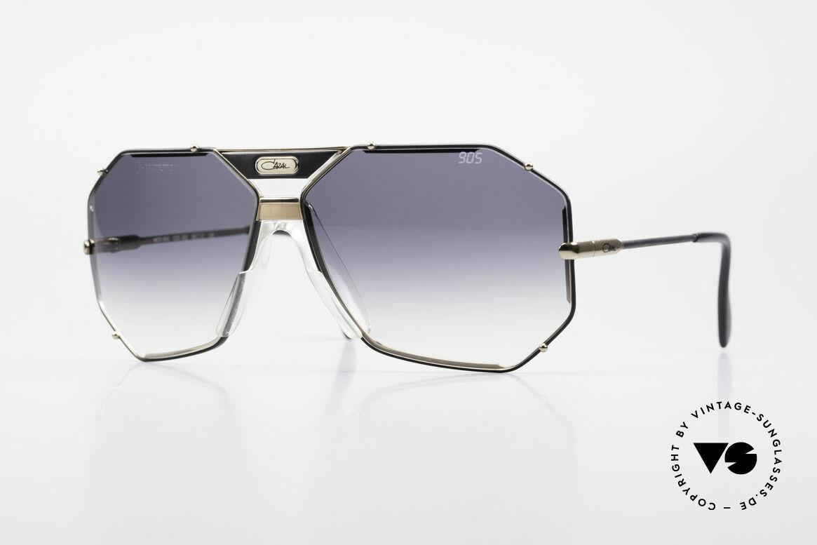 Cazal 905 Original 90er Cazal Modell 905, berühmte Cazal vintage Sonnenbrille von 1989/90, Passend für Herren