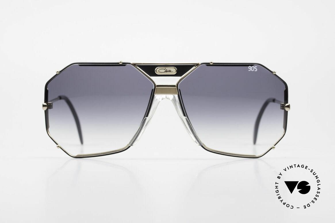 Cazal 905 Original 90er Cazal Modell 905, elegantes, kantiges Design v. Cari Zalloni, CAZAL, Passend für Herren