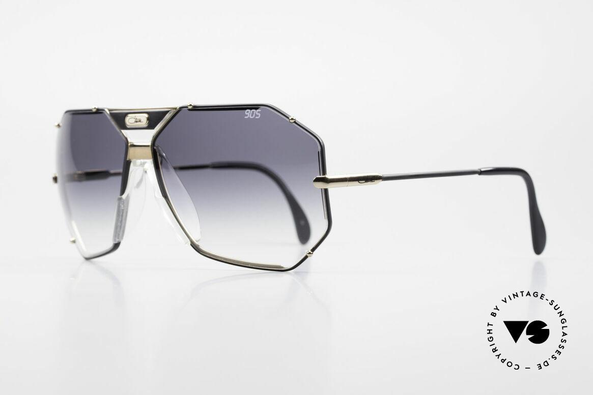 Cazal 905 Original 90er Cazal Modell 905, mit orig. Cazal Etui u. Wechselgläsern (100% UV), Passend für Herren
